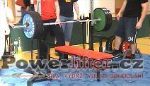 Karel Válek, 217,5kg