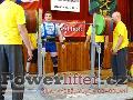 Zoltán Kanát, dřep 320kg, český rekord M2 do 120kg