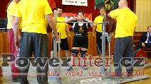Hana Takáčová, 160kg, český rekord M2 nad 84kg