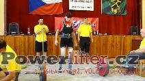 Hana Štěchová, mrtvý tah 120kg, český rekord M2 do 57kg