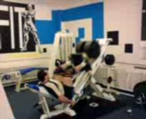Leg-press 340kg, s bandážemi