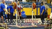 Petr Zámečník, dřep 212,5kg