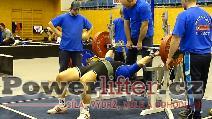 Petr Theuser, benč 200kg