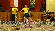 Jakub Zmeko, mrtvý tah 257,5kg, rekord SR dorostu do 93kg
