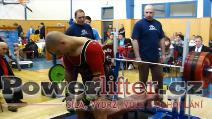 Miloš Hýbl, 227,5kg, absolutní vítěz a 1.místo do 90kg