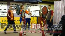 Markéta Kovrzková, dřep 115kg