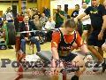 Jakub Sedláček, benchpress 200kg, český juniorský rekord do 82,5kg