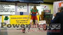 Lenka Goliášová, 140kg