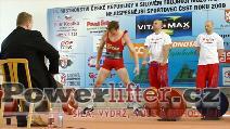 Daniel Pianka, mrtvý tah 205kg, muži do 60kg