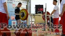 Petr Krošlák, 160kg