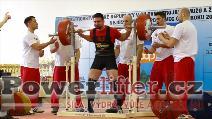 Jiří Zimula, 285kg