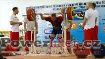 Jaroslav Mikulanda, 310kg