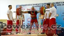 Lukáš Theuser, 310kg