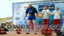 Martin Brabec, 280kg