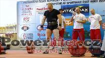 Antonín Pavlovec, 252,5kg