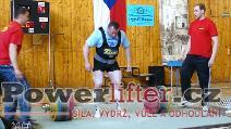 Jiří Gryga, mrtvý tah 320kg, M1 do 110kg