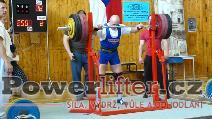 Libor Burýšek, 250kg