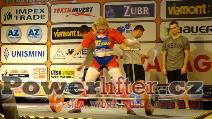 Eva Buxbom, DEN, 160kg