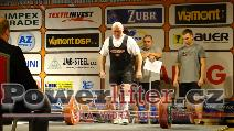 Karel Schoř, CZE, 250kg