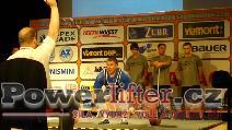 Josef Máška, CZE, 230kg