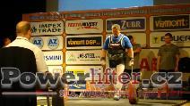 Josef Máška, CZE, 262,5kg