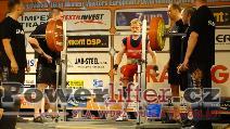 Karel Ruso, CZE, 255kg
