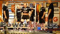 Geir Gregersen, NOR, 255kg