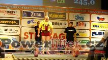 Michal Sekot, CZE, 245kg