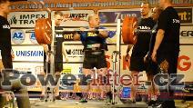 Claudio D'Ovidio, ITA, 325kg