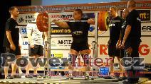 Sergey Burmistrov, RUS, 310kg