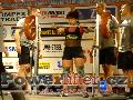 Valeriya Levochkina, RUS, dřep 187,5kg, ženy M1 do 67,5kg