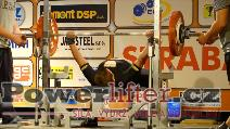 Dorota Szczepanik, POL, benč 140kg, ženy M1 do 82,5kg