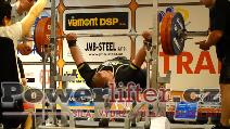 Kaido Leesmann, EST, benč 265kg, evropský rekord muži M1 do 125kg