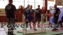 Rémy Krayzel, vydřený dřep 230kg