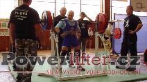 Rémy Krayzel, dřep 220kg