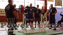 Jan Fiala, dřep 265kg