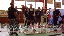 Vladimír Pop, dřep 245kg