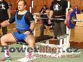 Vladimír Pop, benč 170kg