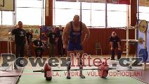 Pavel Župka, mrtvý tah 295kg