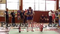 Štěpán Hoza, mrtvý tah 215kg