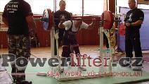 Bronislav Tvrdoň, dřep 165kg