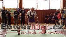 Bronislav Tvrdoň, mrtvý tah 160kg