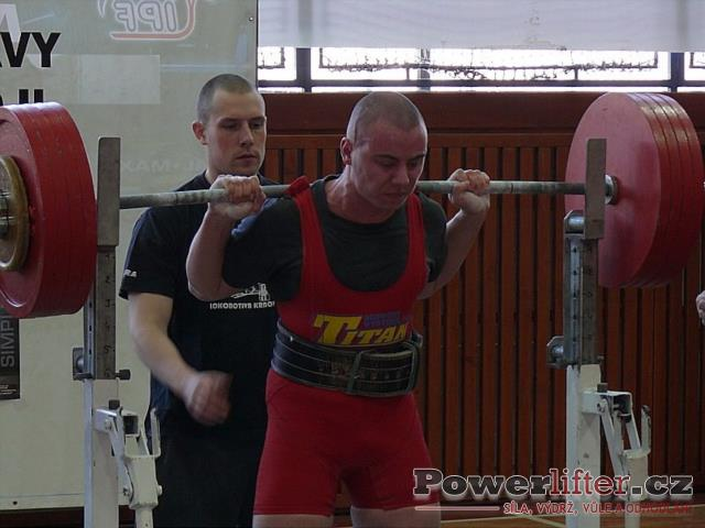 Tomáš Pavliš, dřep 235kg