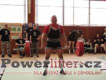 Václav Jaremczuk, mrtvý tah 250kg