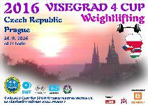 VISEGRAD 4 CUP in Weightlifting for Men and Women 2016
