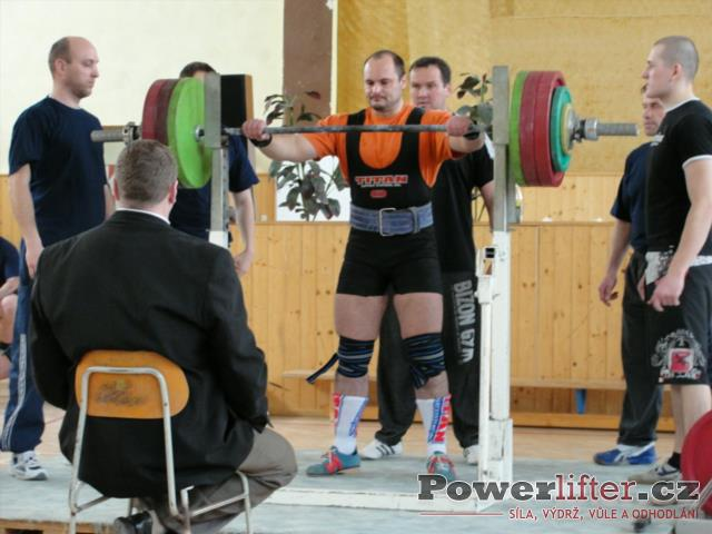 Vladimír Pop, 252,5kg