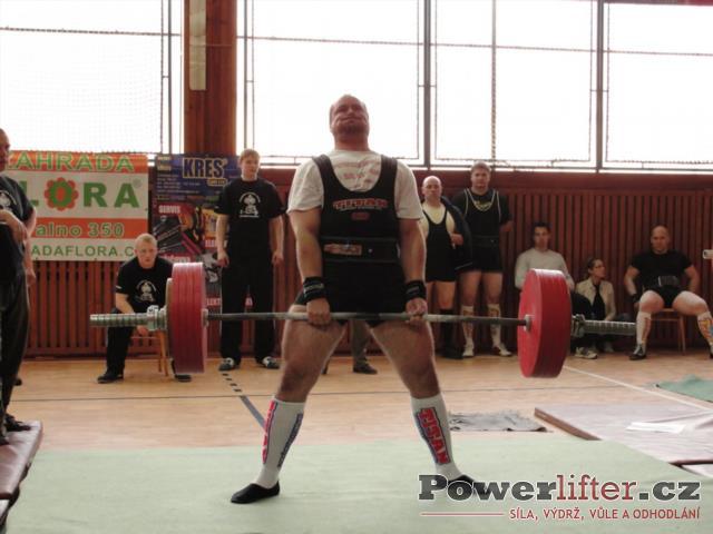 Vladimír Pop, mrtvý tah 245kg