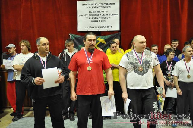 Vyhlášení výsledků - muži do 120kg