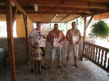 Vyhlášení výsledků - muži nad 110kg