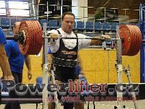 Zbyněk Krejča, dřep 340kg